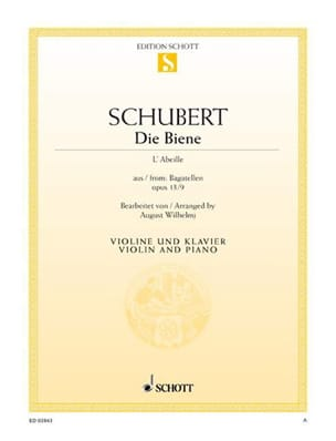SCHUBERT - Die Biene The Bee - Sheet Music - di-arezzo.com