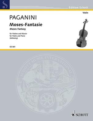 Niccolò Paganini - Moses-Fantasie - Sheet Music - di-arezzo.co.uk
