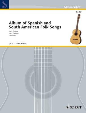 Album spanischer und südamerikanischer Volkslieder - Partition - di-arezzo.fr