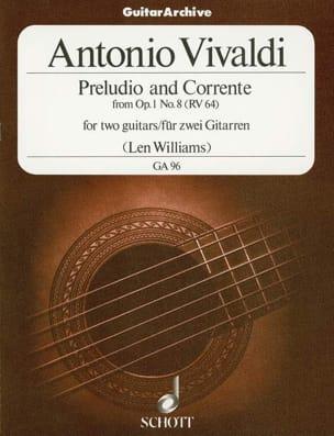 VIVALDI - Preludio und Corrente - Sheet Music - di-arezzo.com