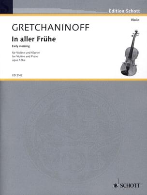 In aller Frühe op. 126a – Violon - laflutedepan.com