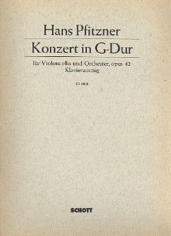 Hans Pfitzner - Violoncello-Konzert G-Dur, op. 42 - Partition - di-arezzo.fr