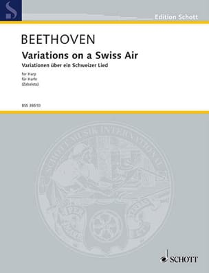 Ludwig van Beethoven - Variation on a Swiss Air Woo 64 - Partition - di-arezzo.fr