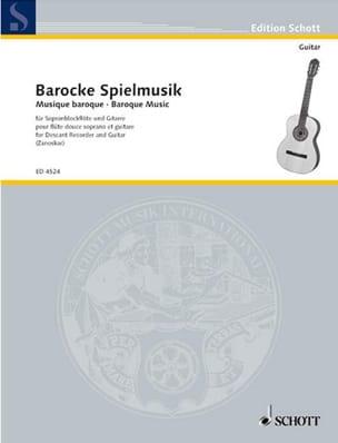 Barocke Spielmusik - Sopranblockflöte Gitarre laflutedepan