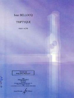 Ivan Bellocq - Triptyque - Partition - di-arezzo.fr