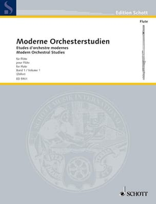 - Modern Orchesterstudien volume 1 - Flute - Sheet Music - di-arezzo.co.uk