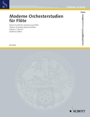 Modern Orchesterstudien, Bd. 2 - Flöte - Partition - di-arezzo.co.uk