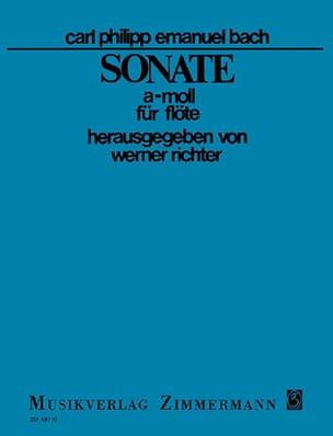 Carl Philipp Emanuel Bach - Sonate a-moll - Flöte solo - Partition - di-arezzo.fr