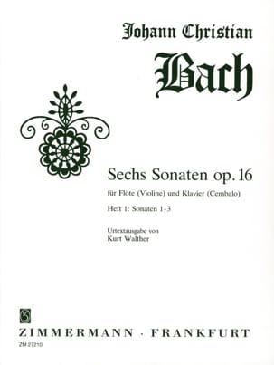 6 Sonates, op. 16 Heft 1 -Flöte Violine Klavier laflutedepan
