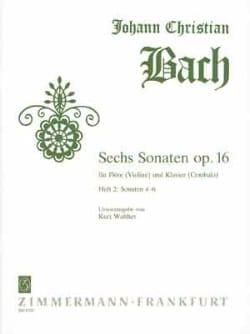 6 Sonates, op. 16 Heft 2 - Flöte Violine Klavier laflutedepan