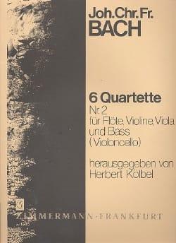 6 Flötenquartette (Nr. 2) – Flöte, Violine, Viola u. Bass (Violoncello) - laflutedepan.com