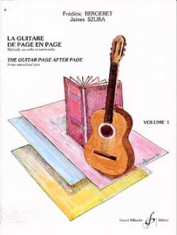 Bergeret Frédéric / Szura James - The Guitar of Page in Page, Volume 1 - Sheet Music - di-arezzo.co.uk