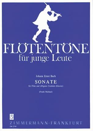 Johann Ernst Bach - Sonate - Flöte u. obligates Cembalo Klavier - Partition - di-arezzo.fr