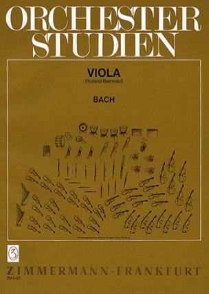 BACH - Orchesterstudien - Alto - Partitura - di-arezzo.es