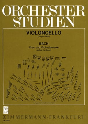 BACH - Orchesterstudien - Cello - Sheet Music - di-arezzo.com