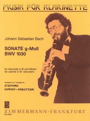 Sonate g-moll BWV 1030 – Klarinette Klavier - laflutedepan.com