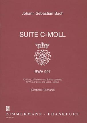 BACH - Suite c-moll BWV 997 -Flöte 2 Violinen BC - Partition - di-arezzo.fr
