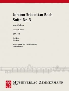 BACH - 6 Suiten Nr. 3 BWV 1009 - Float Solo - Sheet Music - di-arezzo.com