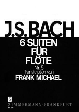 Johann Sebastian Bach - Suite Nr. 5 BWV 1011 Pour Flüte Seule (6 Suiten För Flöte) - Partition - di-arezzo.fr