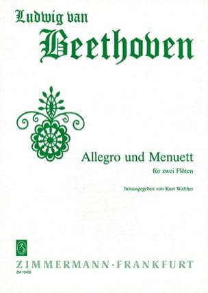 Allegro und Menuett - 2 Flöten - laflutedepan.com