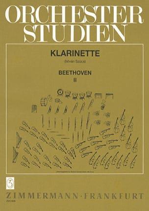 BEETHOVEN - Orchesterstudien - Heft 2 - Klarinette - Sheet Music - di-arezzo.com
