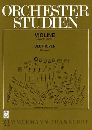 Orchesterstudien Violine – Sinfonien - BEETHOVEN - laflutedepan.com