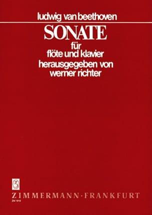 BEETHOVEN - Sonata B-Dur - Flöte Klavier - Partitura - di-arezzo.es