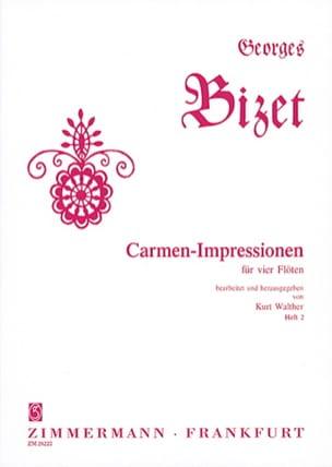 Carmen-Impressionen Vol. 2 BIZET Partition laflutedepan