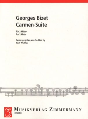 BIZET - Carmen-Suite - 2 Flöten - Sheet Music - di-arezzo.co.uk
