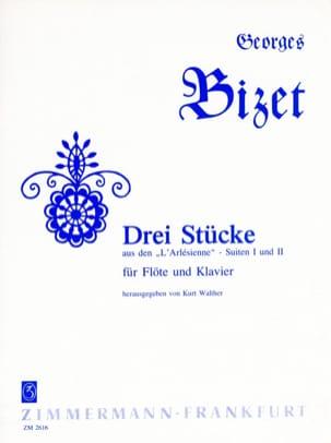BIZET - 3 Stücke aus den L 'Arlésienne - Flöte Klavier - Sheet Music - di-arezzo.co.uk