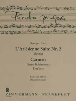 BIZET - Menuet / Entr'acte / Bohemian Dance - Sheet Music - di-arezzo.co.uk