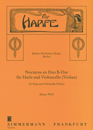 Charles Bochsa - Nocturne en Duo B-Dur – Harpe Cello (o. Violine) - Partition - di-arezzo.fr
