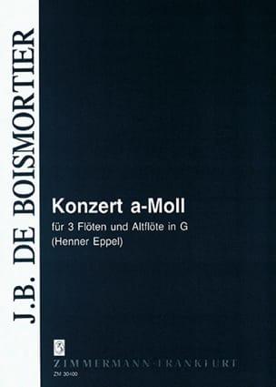 BOISMORTIER - Konzert en la Min. - Partition - di-arezzo.fr