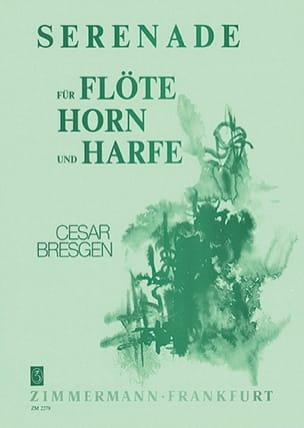 Cesar Bresgen - Serenata - Flöte Horn Harfe - Partitura - di-arezzo.es