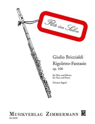 Rigoletto-Fantasie op. 106 - Flöte Klavier laflutedepan