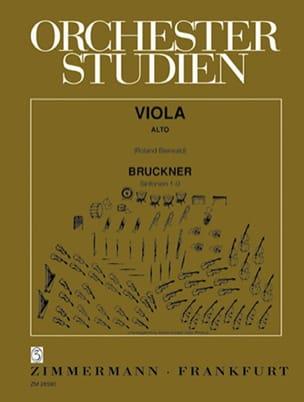 Orchesterstudien - Viola - Anton Bruckner - laflutedepan.com