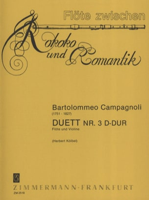 Duett Nr. 3 D-Dur – Flöte Violine - laflutedepan.com