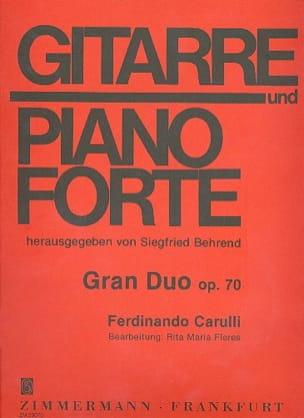 Gran Duo - Fernando Carulli - Partition - laflutedepan.com