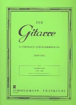Sonate Nr. 1 Op. 21 –gitarre U. Klavier - laflutedepan.com