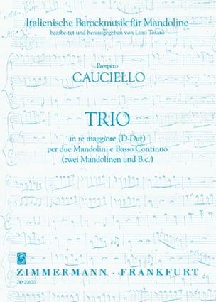 Trio in re maggiore per 2 Mandolini e Basso Continuo - laflutedepan.com