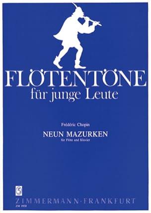 CHOPIN - 9 Mazurken - Flöte Klavier - Partitura - di-arezzo.it