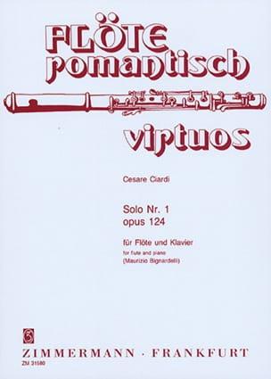 Cesare Ciardi - Solo n ° 1 op. 124 - Flöte Klavier - Sheet Music - di-arezzo.com