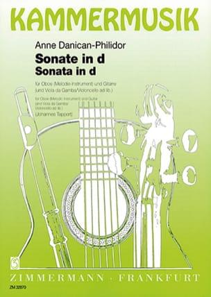Anne Danican-Philidor - Sonate d-Moll - Partition - di-arezzo.fr