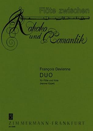 Duo- Flöte Viola DEVIENNE Partition Duos - laflutedepan