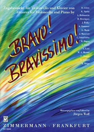 Jürgen Wolf - Bravo! Bravissimo! - Violoncelle - Partition - di-arezzo.fr