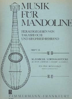 - Classic Pieces For 2 Mandolins - Sheet Music - di-arezzo.com