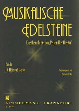 Musikalische Edelsteine - Bd. 1 Werner Richter Partition laflutedepan