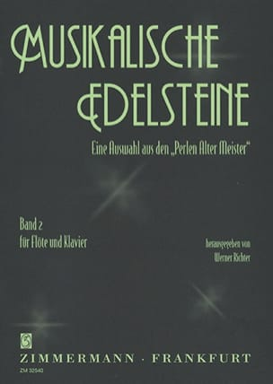 Werner Richter - Musikalische Edelsteine - Band 2 - Partition - di-arezzo.fr