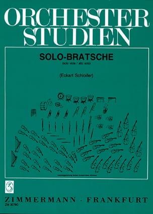 - Orchestrestudien Viola für Solo-Bratschisten - Partitura - di-arezzo.es