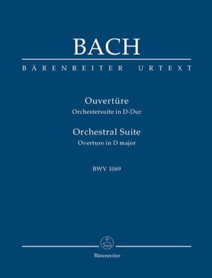 BACH - Open - Orchestersuite - D-dur. Urtext of the Neuen Bach-Ausgabe - Sheet Music - di-arezzo.co.uk